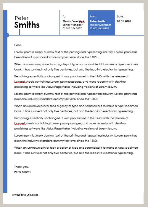 Cover Letter Sample 002