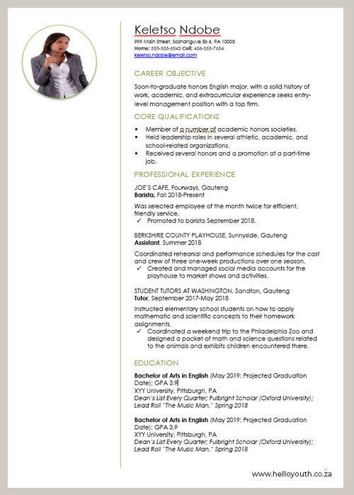 CV Sample 002