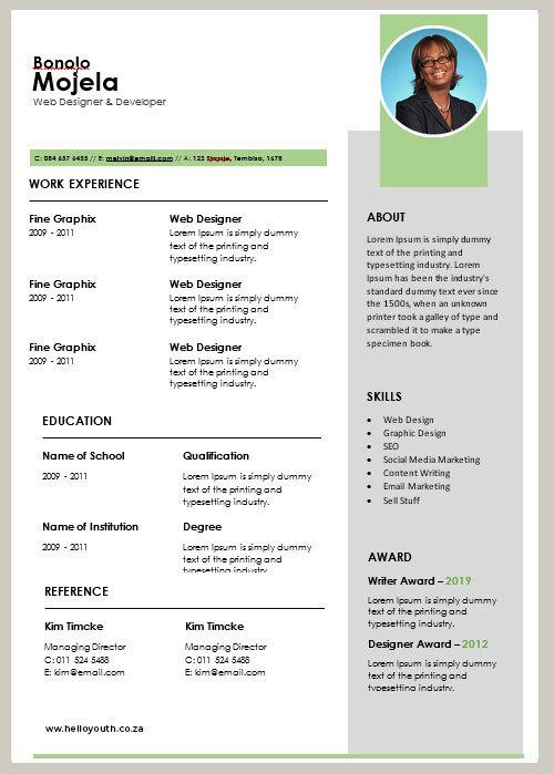 CV Sample 005