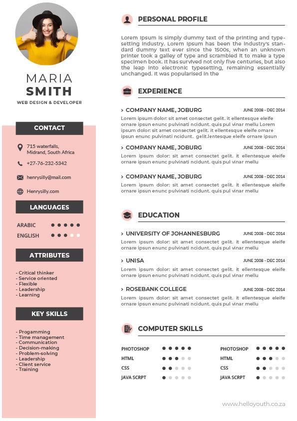 CV Template 010