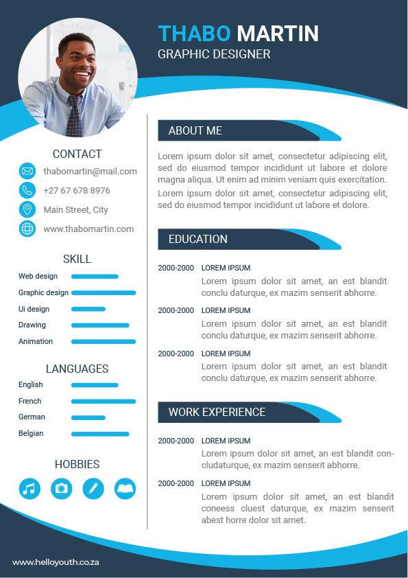 CV Template 011