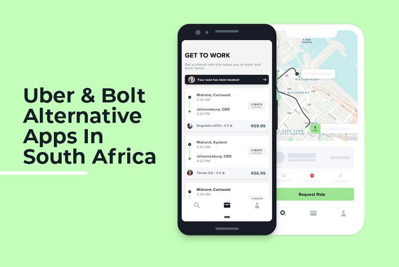 Uber & Bolt Alternative Apps in South Africa