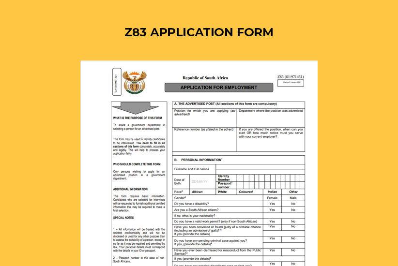 Z83 Form